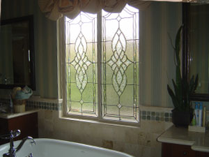 The Beveled Edge Art Glass Studio Custom Leaded Glass